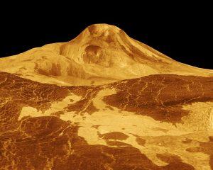 火星で最も高い火山:マアト山