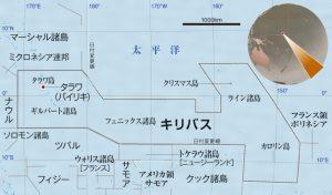 キリバスの地図