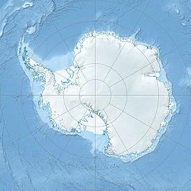 南極の地図