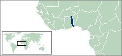 青色の国がトーゴ共和国