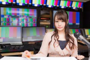 NHKの人気女子アナ