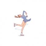 フィギュアスケートの回転