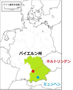 ネルトリンゲンの位置
