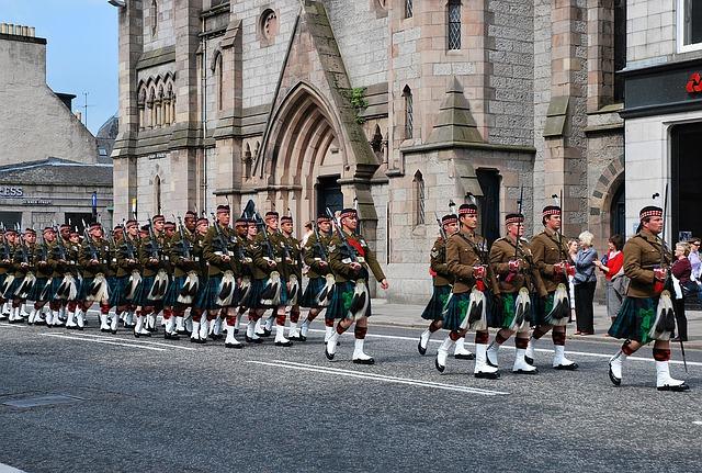 スコットランドの住民